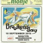 Brooikensdag 2016 op de voorpagina van het Klokje